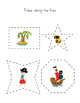 Preschool Pirate Printable