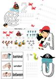 Preschool Pirate Theme Worksheets