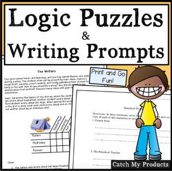 Logic Puzzles and Writing Fun