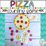Preschool Pizza Math Counting Game