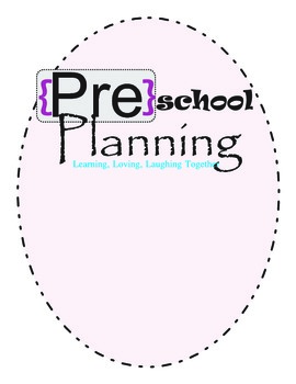Preschool Planner