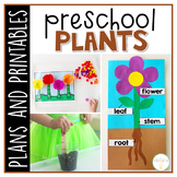 Preschool: Plants {Plans and Printables}