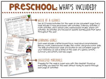 Preschool: Plants {Plans and Printables}