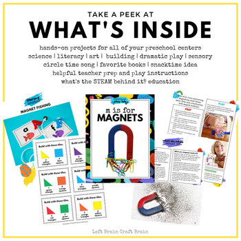 Preschool Play Lab - M is for Magnets