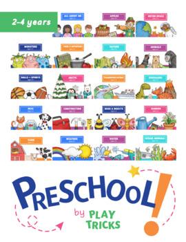 Preschool Play Tricks Growing Bundle
