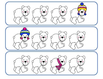 Preschool - Polar Bear Activity Packet