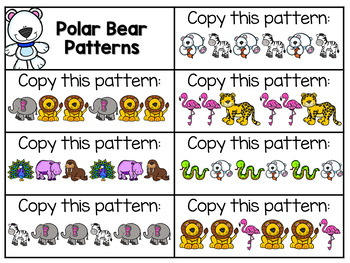 Preschool: Polar Bears {Plans and Printables}