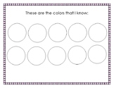 Preschool Portfolio Assessment