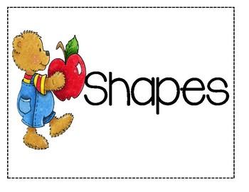 Preschool Portfolio Page Dividers