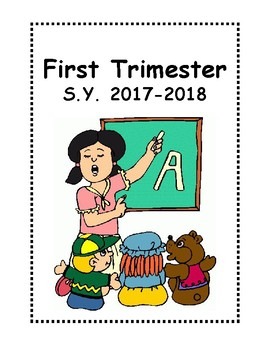 Preschool Portfolio Semester LAbel