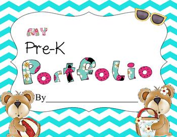 Preschool / Pre-K Bear Portfolio