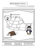 PreK/Kindergarten Practice with Positional Words