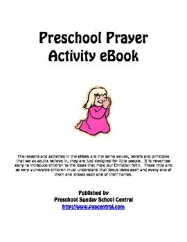 Preschool Prayer Activity eBook
