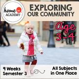 Preschool Curriculum COMMUNITY HELPERS Bundle for Preschool, Pre-K, Homeschool