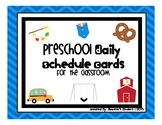 Preschool / Pre-K Daily Visual Schedule Cards
