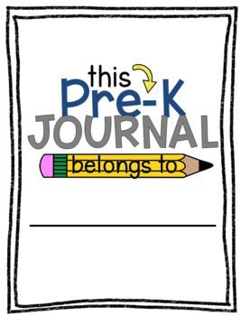 Preschool/Pre-K Journal Covers and Dividers