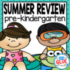 Preschool (PreK, Pre-K) Summer Review - Summer Homework