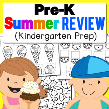 Preschool (Pre-K) Summer Review (Kindergarten Prep)