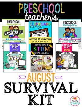 Preschool & Pre-K Teacher's August Survival Kit