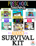 Preschool & Pre-K Teacher's August Survival Kit Bundle