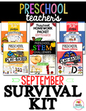 Preschool & Pre-K Teacher's September Survival Kit Bundle