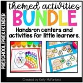 Preschool, PreK and Kindergarten Themed Centers and Activities