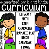 Preschool, Pre-K, and Kindergarten Curriculum