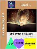 Preschool Pre-Reading Kit (OG)