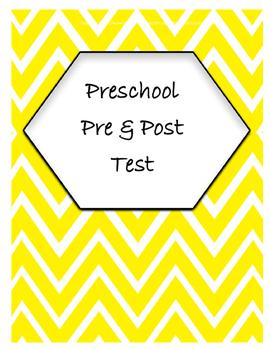 Preschool Pre and Post Test