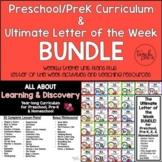 Preschool/PreK Curriculum & Letter of the Week Bundle!