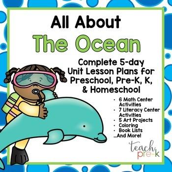 Preschool, PreK, K & Homeschool Lesson Plans Bundle: Set #3