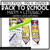 Preschool, PreK, Kindergarten Back to School August Center