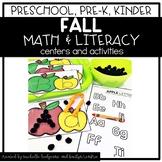 Preschool, PreK, Kindergarten Fall Autumn September Center