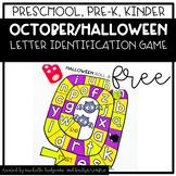 Preschool, PreK, Kindergarten Halloween October Letter Ide
