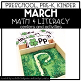 Preschool, PreK, Kindergarten March St.Patrick's Day Centers and Activities