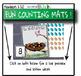 FREE - Preschool, PreK, Kindergarten NEST themed FUN COUNTING MAT 1 - 20