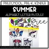 Preschool, PreK, Kindergarten Summer Activities | Alphabet