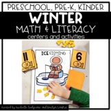 Preschool, PreK, Kindergarten Winter Centers and Activities