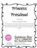 Preschool/PreK Letter A Words and Picture Cards