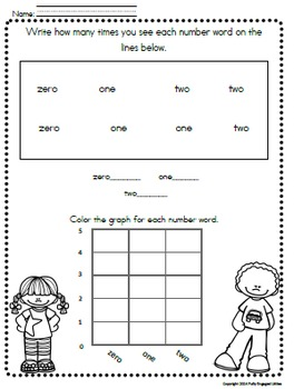 Preschool-Sight Words, Letters, Numbers, Colors,& Shapes