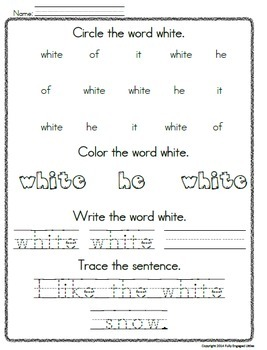 Colors- Worksheets, Graphs, and Short Book