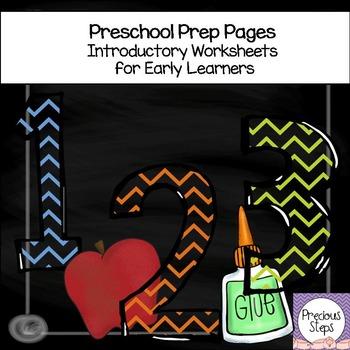 Kindergarten Prep Pages