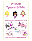 Preschool Princess Chore Chart and Cards