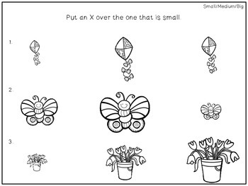 Preschool Print and Go Activities for Speech and Language: Spring