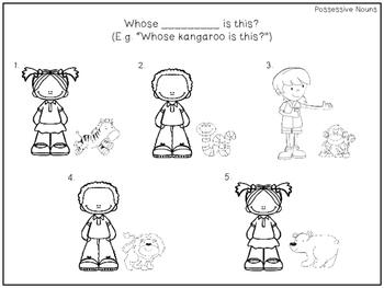 Preschool Print and Go Activities for Speech and Language: Zoo Animals