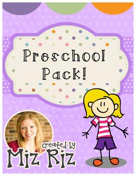 Preschool Printable Form Pack