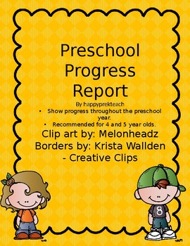 Preschool Progress Report