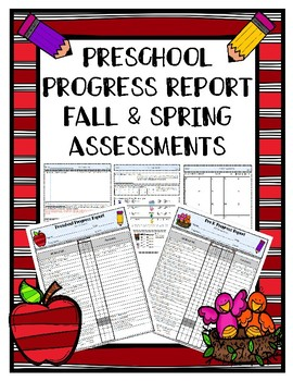 Preschool Progress Report Fall and Spring