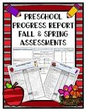 Preschool Progress Report Fall and Spring
