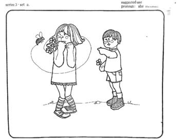 Preschool Pronoun Cards